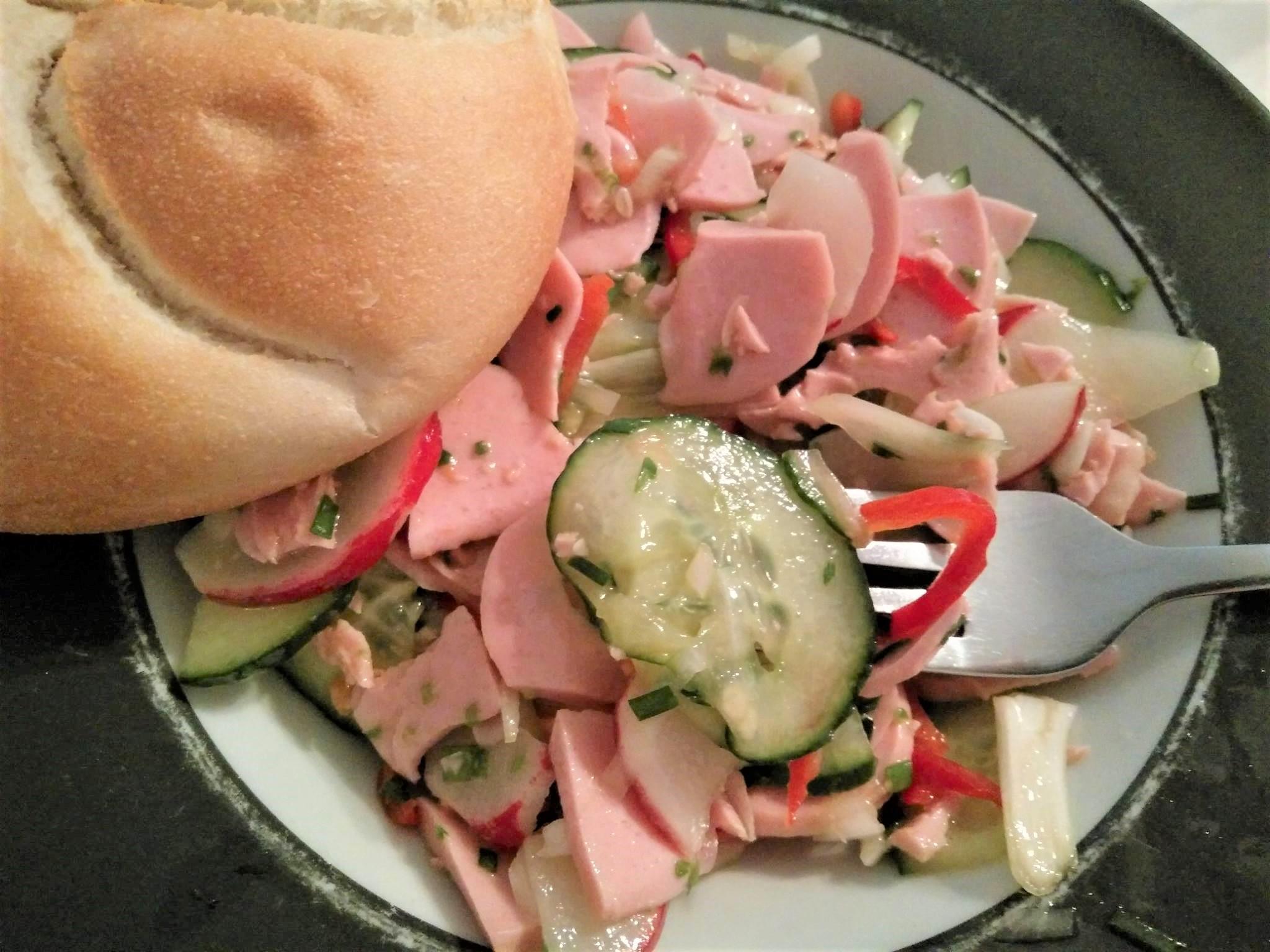 Wurstsalatを作りましょう